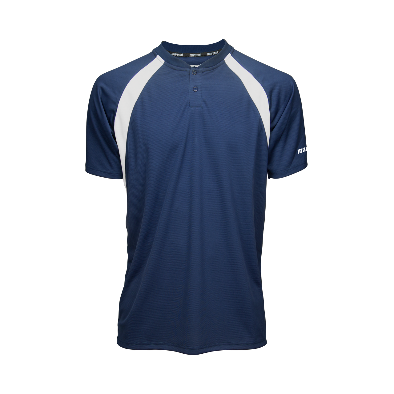 Marucci Two Button Jersey Navy Blue X-Large