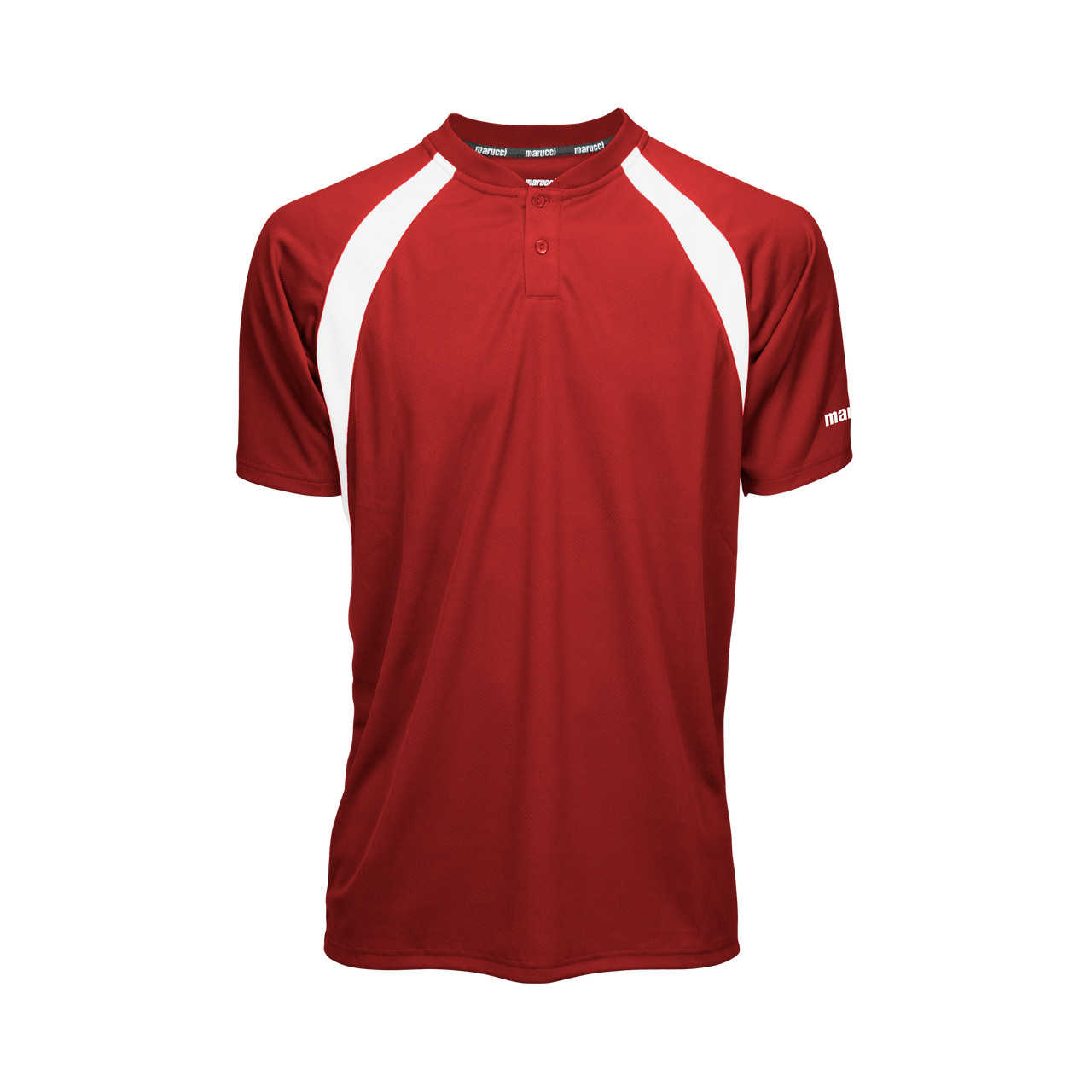 Marucci Two Button Jersey Red Medium