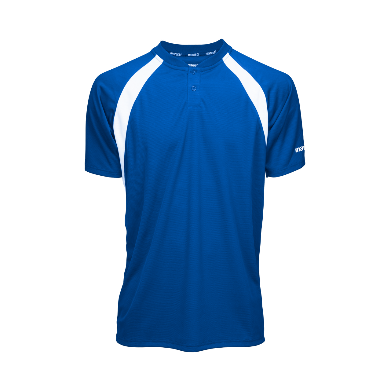 Marucci Two Button Jersey Royal Blue Small