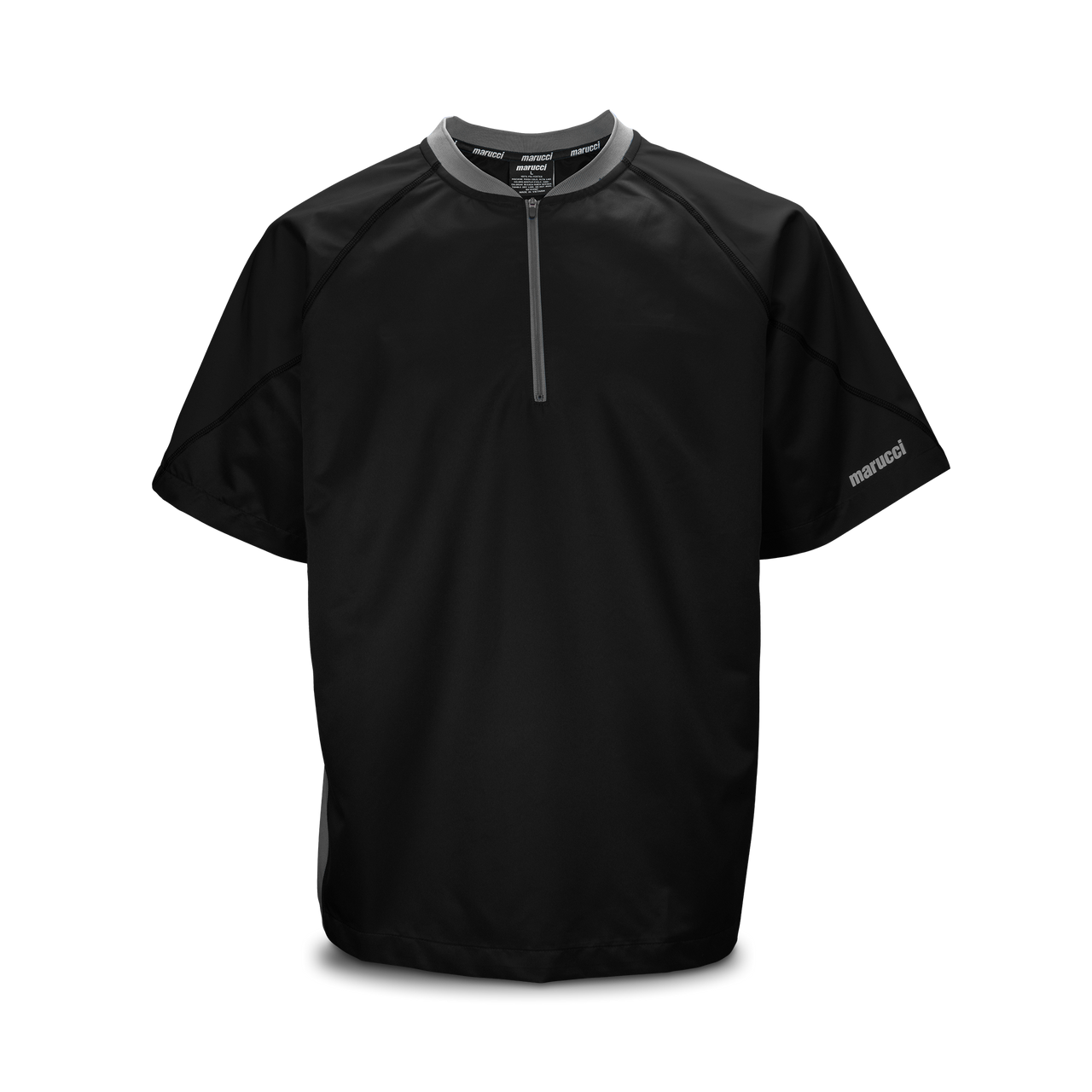 Marucci Youth Short Sleeve Batting Practice Jersey Black Small