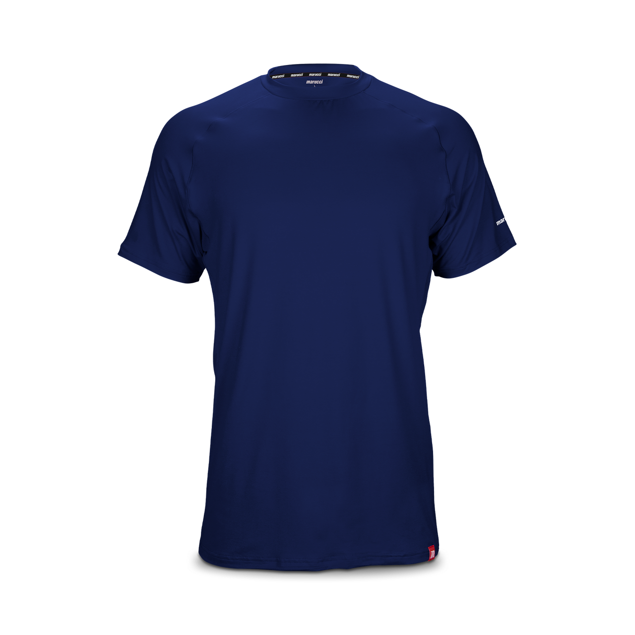 Marucci Youth Athletic Fit Performance Tee Navy Blue Medium