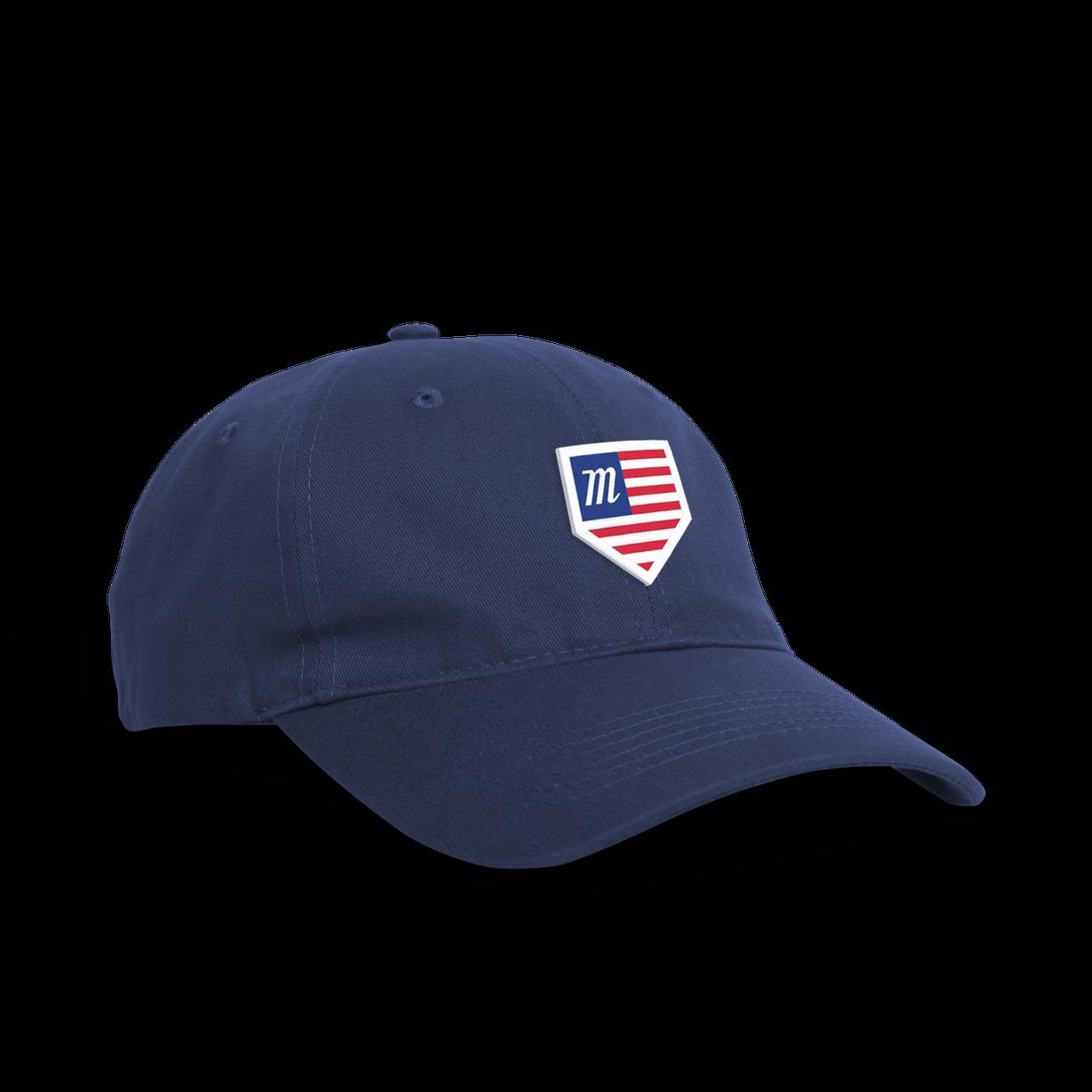 usa home plate snapback hat marucci sports