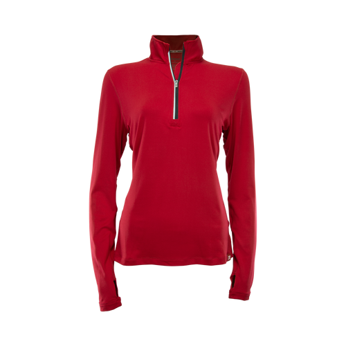 Women's Long Sleeve Quarter Zip