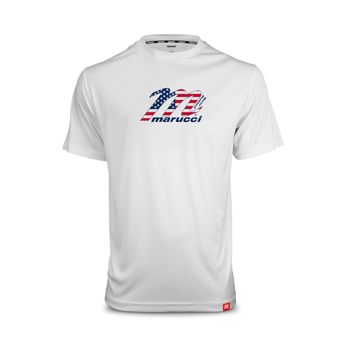 Youth USA Wood Bat Logo Performance Tee