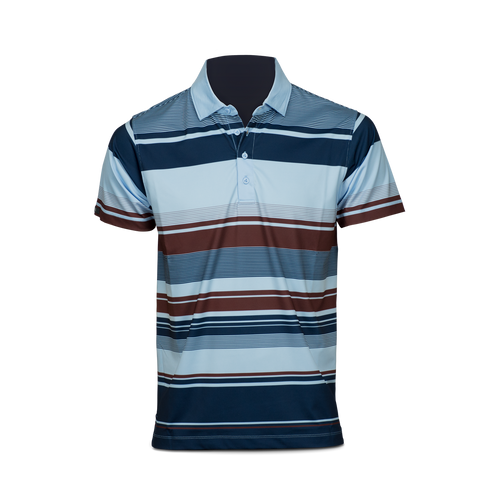 Matte Grey Charleston Polo
