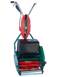 Protea SI430E 17 Inch Heavy Duty Cylinder Reel Roller Mower with Electric Motor + Rubber Roller