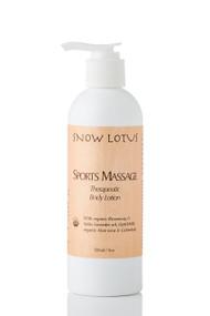 Sports Massage Therapeutic Body Lotion – 240 ml/8 oz