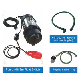 Rainwater Harvesting Pump Kit for installation inside a Water Storage Tank.