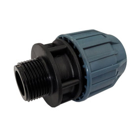 "Compression Adaptor with 1"" threaded connection"