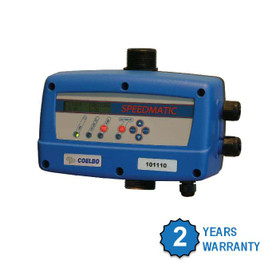 Speedmatic Pump Inverter comes with two years warranty.