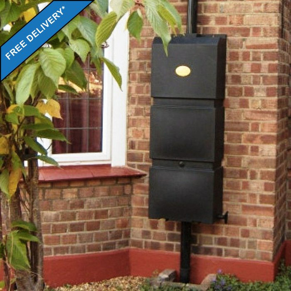 Wall Mounted Water Butt with Free Delivery to UK Mainland.