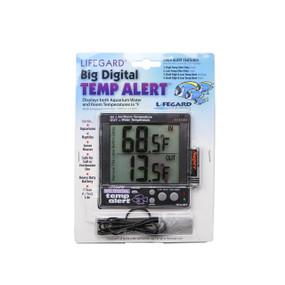 Termómetro digital grande para acuario Lifegard Acuatics