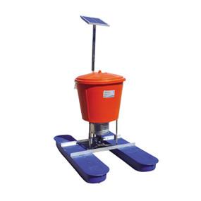 Alimentador Solar Automatico ProAqua De 75 Kilos