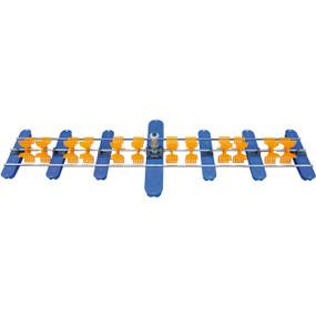 Aireador Maof Madan de 12 paletas motor 3 HP de acero inoxidable