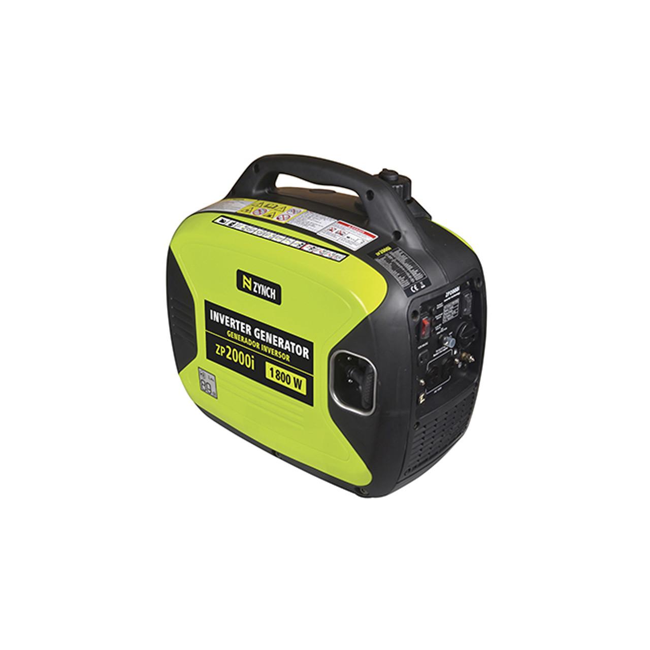 Generador eléctrico portatil 2000 W a gasolina ZYNCH para camping