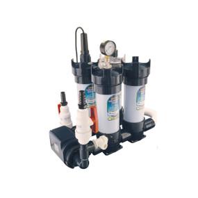 Sistema modular compacto preensamblado Lifegard Aquatics (Bomba, Filtro mecanico, Filtro Quimico, Calentador, Filtro ultravioleta)