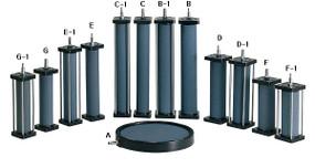 Difusor de Aire AngelAqua Cilindrico de Baja Presion de 15cm X 5cm (DY102-F)