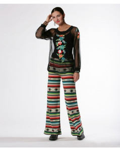 Double D Ranch Flower Palazzo Pant