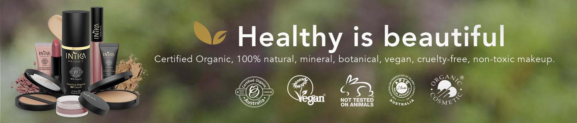 Buy Inika Organic from Naturally Safe Cosmetics