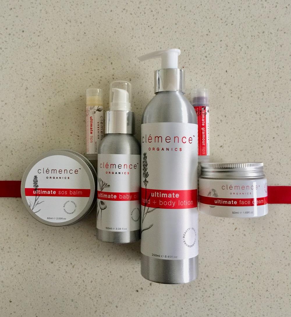 Clemence Organics Ultimate Organic Skin Care Range
