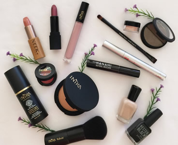 how to make natural makeup products