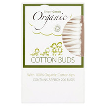 Simply Gentle Organic Cotton Buds 200 pack