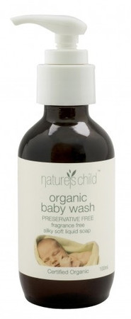 Nature's Child Organic Baby Wash