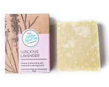 Australian Natural Soap Company Luscious Lavender Soap - with box