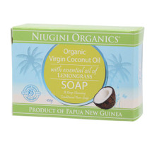 Niugini Organics Virgin Coconut Oil Soap - Lemongrass