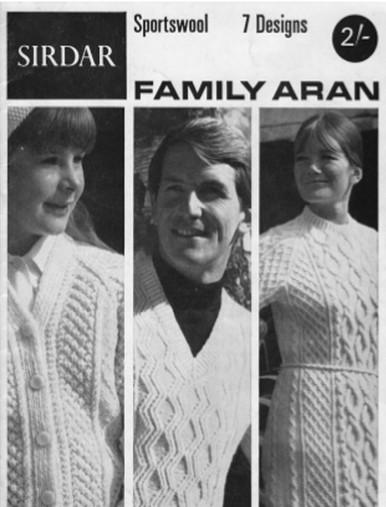 Vintage Aran Family Sweaters