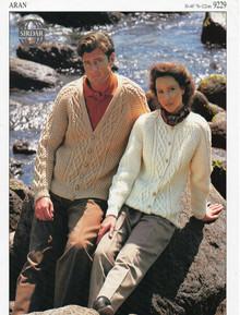 Vintage Unisex Country Aran Cardigan