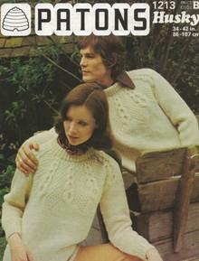 Vintage Unisex Aran Pattern Sweaters