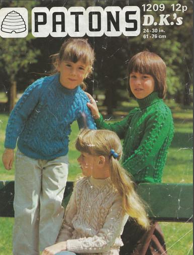 Vintage Children's Aran Sweaters