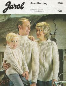 Vintage Family Arans