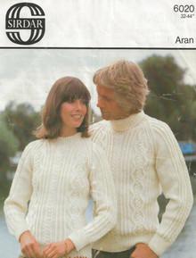 Vintage Aran Unisex Bainin Sweaters
