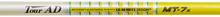 "NEW GRAPHITE DESIGN TOUR AD MT-7 ""X"" FLEX GRAPHITE DRIVER SHAFT WITH .335"" TIP"