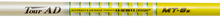 "NEW GRAPHITE DESIGN TOUR AD MT-8 ""X"" FLEX GRAPHITE DRIVER SHAFT WITH .335"" TIP"