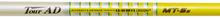 "NEW GRAPHITE DESIGN TOUR AD MT-5 R1 FLEX GRAPHITE DRIVER SHAFT WITH .335"" TIP"