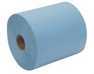"""Blue Spunlace crepe 12"""" x 14"""" 13 lb."""
