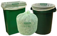 BAG COMPOST 33G 33-40-1.0 GN NTR200 100% COMPOSTBLE(GREEN)8/25ROLL