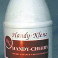 HANDY CHERRY CLEANER  4 X 1 GALLONS