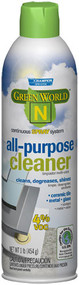 ALL PURPOSE CLEANER GREEN WORLD 'N' 4% VOCs 12 CS 1#