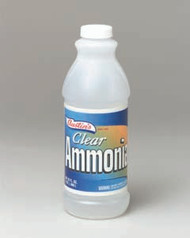 CLEANER AMMONIA CLEAR 32 OZ X 12