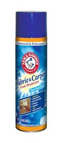 CARPET DEODORIZER FOAM FABRIC & CARPET-CLEAN FRESH SCENT 15OZ (6)