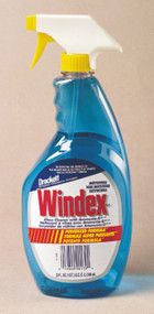 GLASS CLEANER POWERIZED WINDEX WITH AMMONIA 32 OZ.  X 12 PER CASE