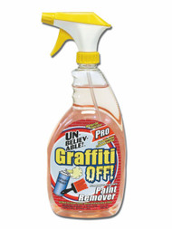GRAFFITI UNBELIEVABLE REMOVER CLEANER  32 OZ X 6 PK