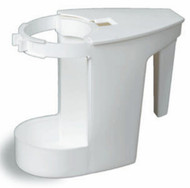 "MOP BOWL CADDY WHITE 6""X4""X7-1/2"" WHITE"