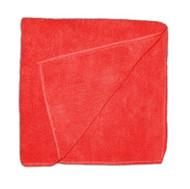 """Red Terry Microfiber 16"""" x 16"""""""