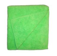 "Green Terry Microfiber 12"" x 12"", 16"" x 16"", 15"" x 24"""