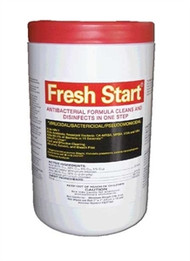"""FRESH START DISINFECTANT CANISTER WIPES  7""""x  7"""""""